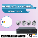 Paket CCTV Omniview 4 Channel Ultimate HDTVI
