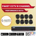 Paket CCTV G-Lenz 8 Channel Performance HDTVI