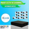 www.distributor-cctv.com - Paket CCTV HiLook 16 Channel Ultimate HDTVI