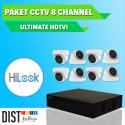www.distributor-cctv.com - Paket CCTV HiLook 8 Channel Ultimate HDTVI