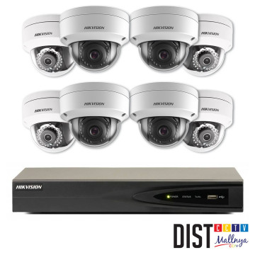 Paket CCTV Hikvision 8 Channel Ultimate IP