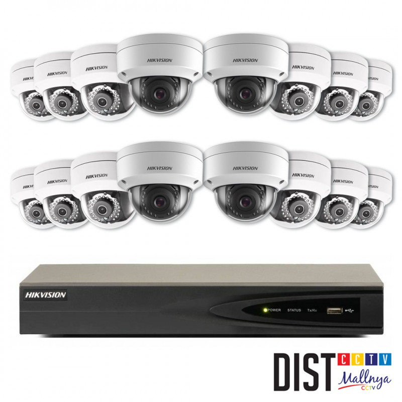 Paket CCTV Hikvision 16 Channel Performance IP