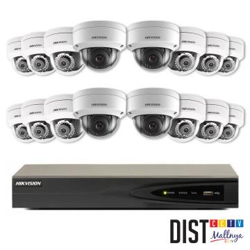 Paket CCTV Hikvision 16 Channel Ultimate IP