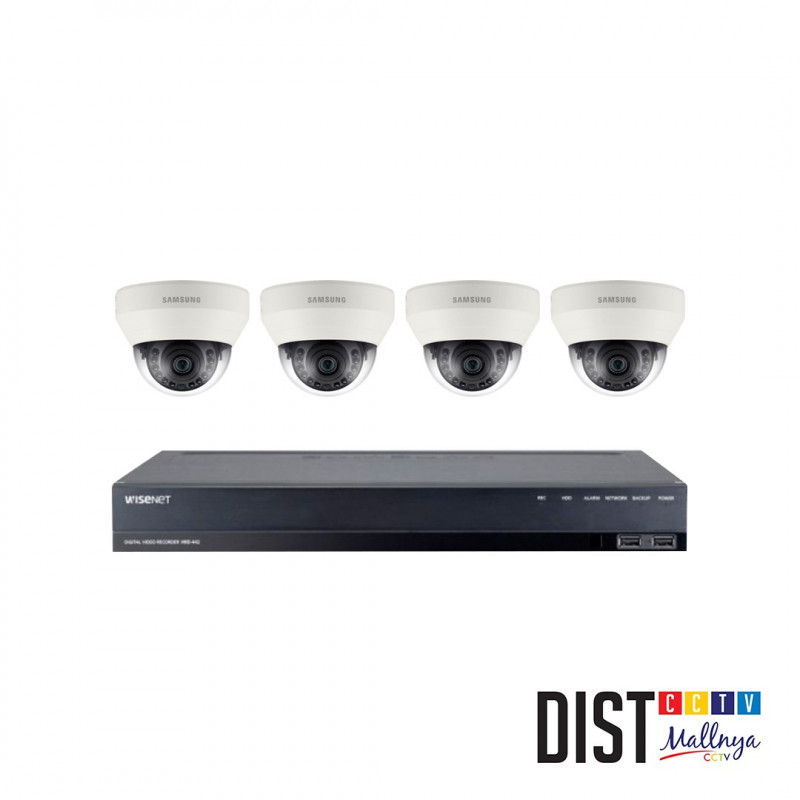 Paket CCTV Samsung 4 Channel Performance
