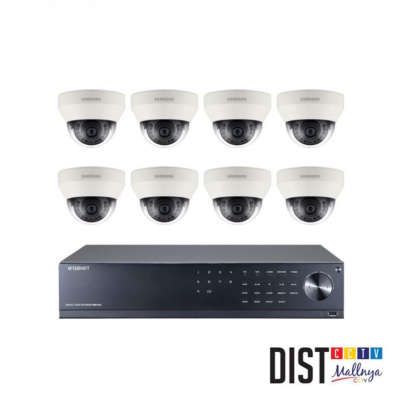 Paket CCTV Samsung 8 Channel Performance AHD