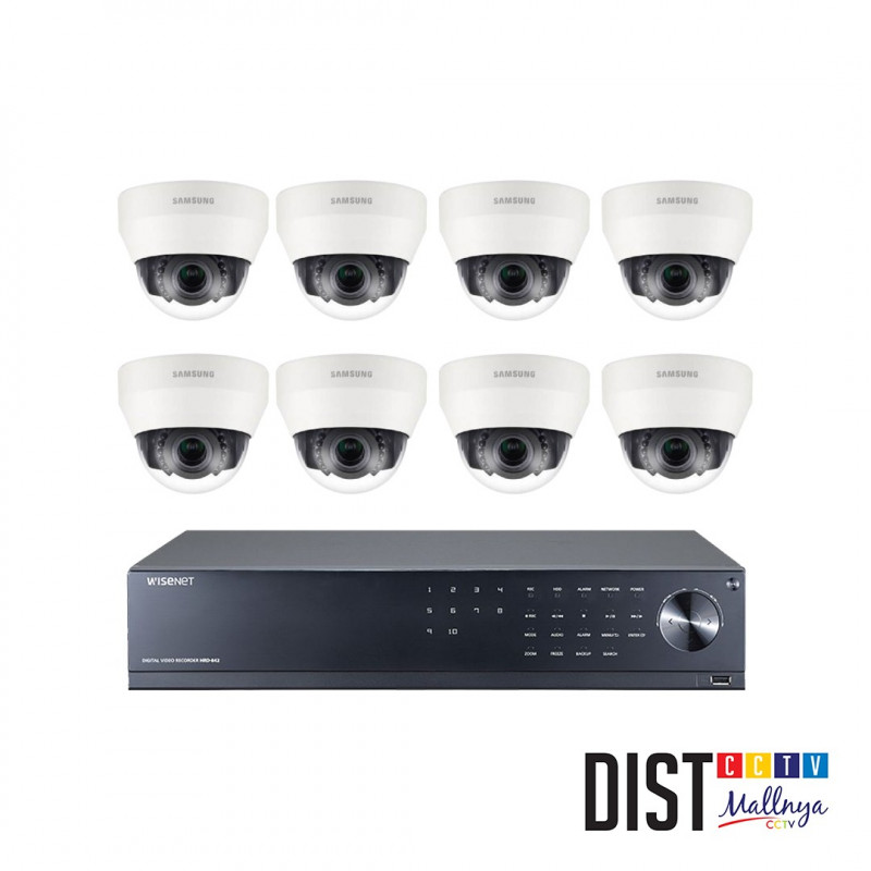 Paket CCTV Samsung 8 Channel Ultimate AHD