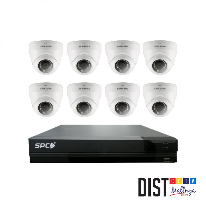 Paket CCTV Samsung 8 Channel Performance Eco