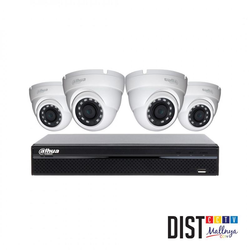 Paket CCTV Dahua 4 Channel 3MP LITE