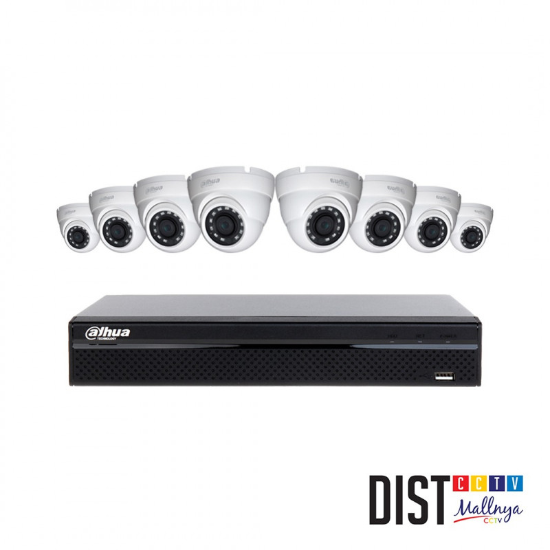 Paket CCTV Dahua 8 Channel 3MP LITE