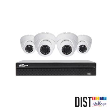 Paket CCTV DAHUA 4 Channel Ultimate HDTVI