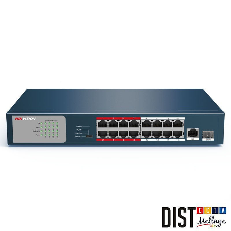 CCTV SWITCH HIKVISION DS-3E0318P-E/M