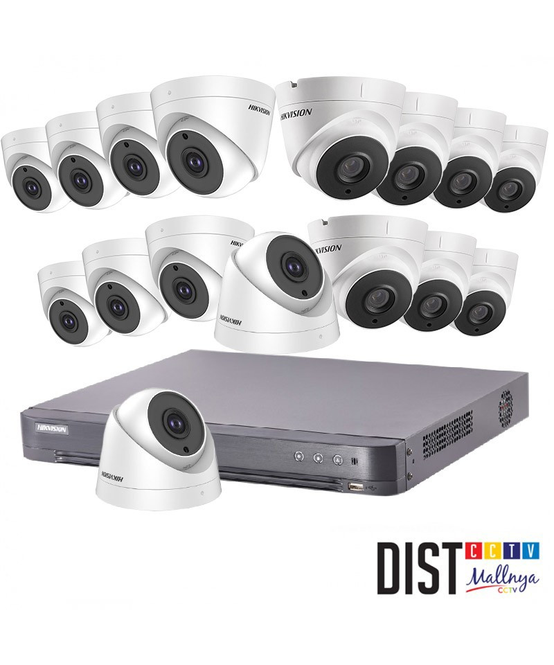 Paket CCTV HIKVISION 16 Channel Ultimate HDTVI
