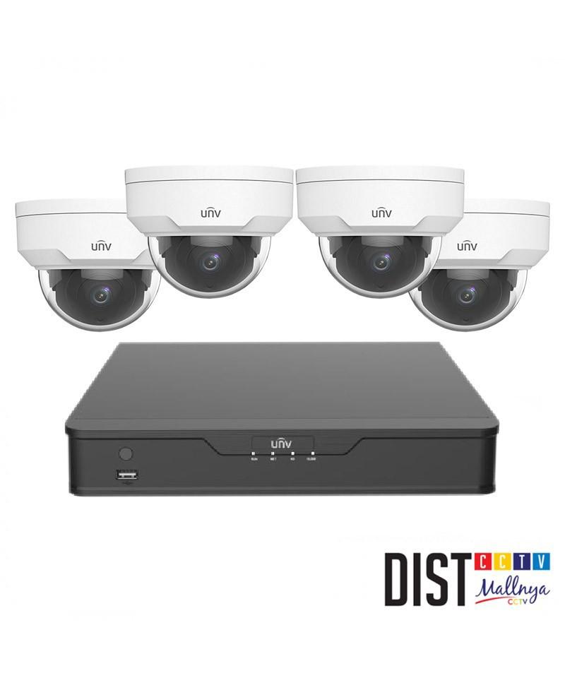 Paket CCTV Uniview 4 Channel Performance IP