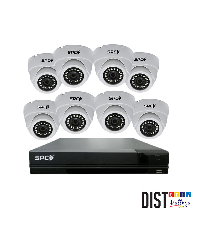 Paket CCTV SPC 8 Channel Performance