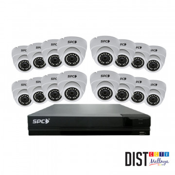 Paket CCTV SPC 16 Channel Performance