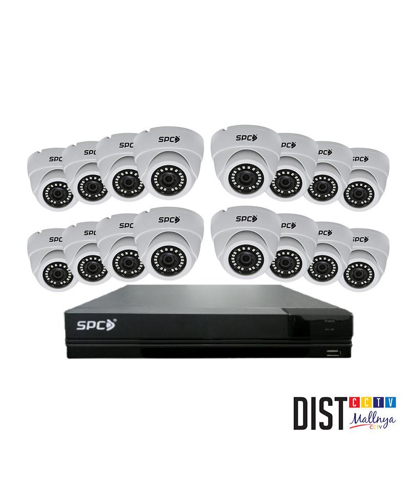 Paket CCTV SPC 16 Channel Performance