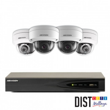 Paket CCTV Hikvision 4 Channel Ultimate IP