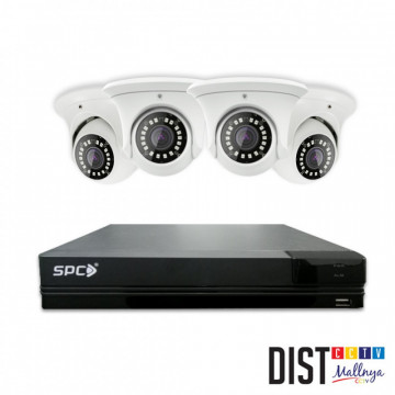 Paket CCTV SPC 4 Channel Ultimate (DAY NIGHT COLOUR ON)