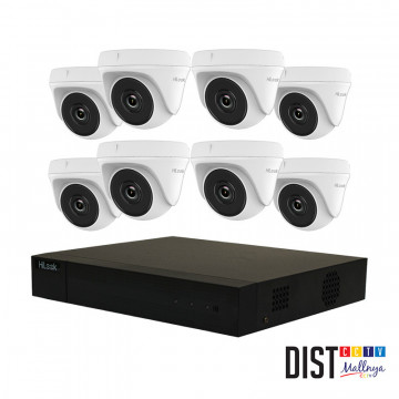 Paket CCTV HiLook 8 Channel Ultimate