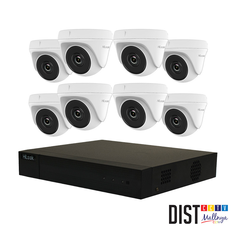 Paket CCTV HiLook 8 Channel Ultimate