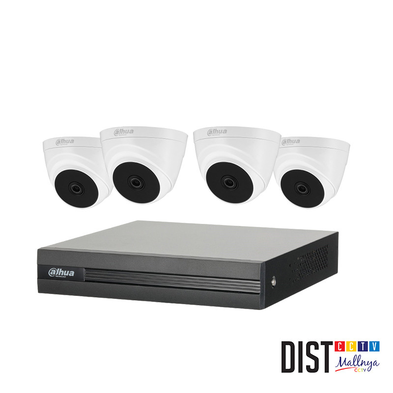 Paket CCTV DAHUA 4 Channel Performance