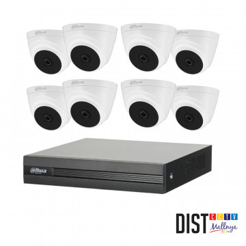 Paket CCTV DAHUA 8 Channel Ultimate