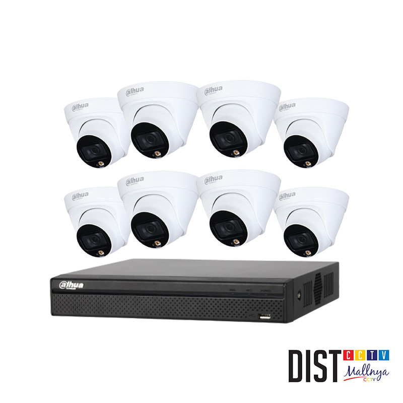 Paket CCTV Dahua 8 Channel Performance IP