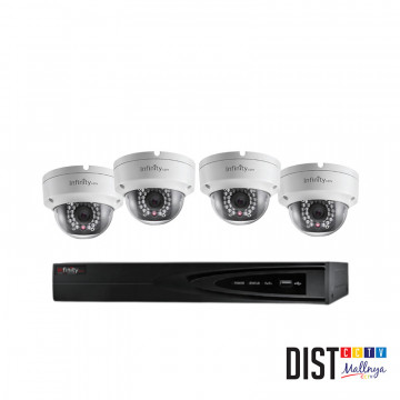 Paket CCTV Infinity 4 Channel Ultimate IP
