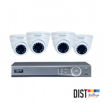 Paket CCTV Panasonic 4 Channel Ultimate
