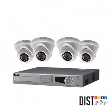 Paket CCTV Panasonic 4 Channel Performance IP