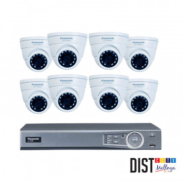 Paket CCTV Panasonic 8 Channel Ultimate