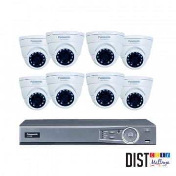 Paket CCTV Panasonic 8 Channel Ultimate