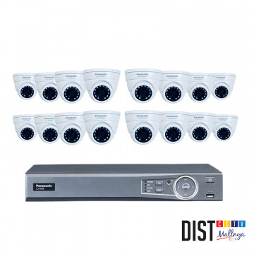 Paket CCTV Panasonic 16 Channel Ultimate