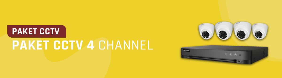 Paket CCTV 4 Channel