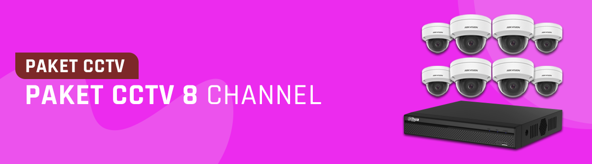 Paket CCTV 8 Channel