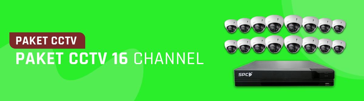 Paket CCTV 16 Channel
