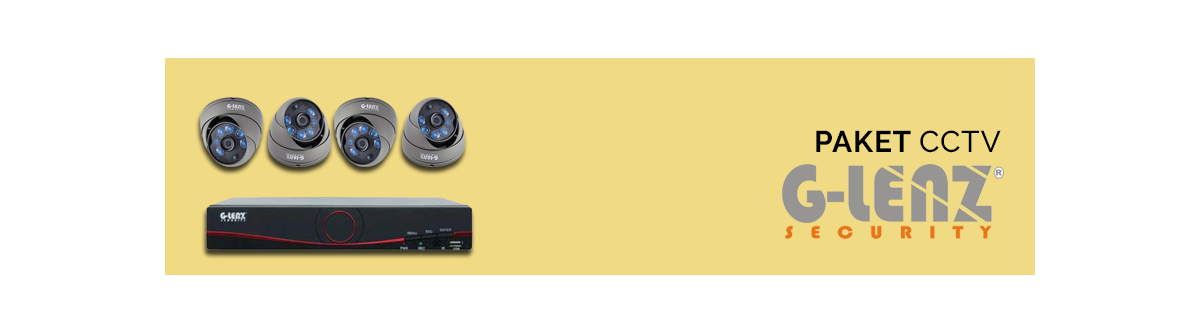 Paket CCTV G-Lenz