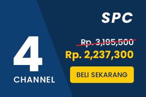 Paket CCTV SPC 4 Channel Siap Pasang