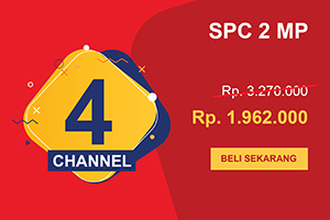 Promo Pahlawan CCTV SPC 4 Channel Perfomance