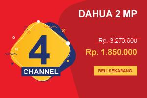 Promo 2019 CCTV Dahua 4 Channel 2MP