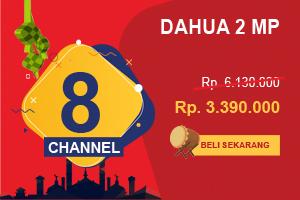 Promo 2019 Paket CCTV Dahua 8 Channel