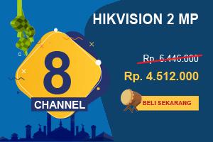 Promo Pahlawan Paket CCTV Hikvision 8 Channel Ultimate