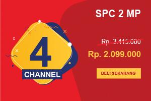 Promo 2019 Paket CCTV SPC 4 Channel